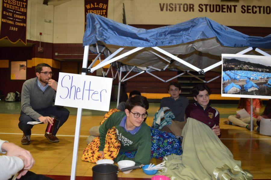 Refugee simulation at WJ [Photo Story]