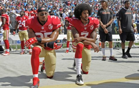 Athletes create controversy over the Stars and Stripes
