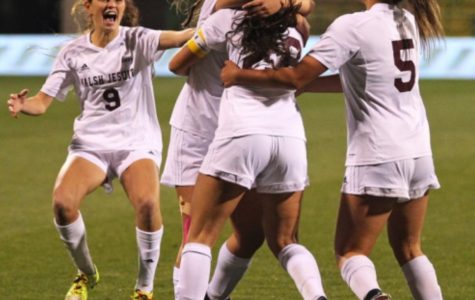 Women's soccer wins fifth consecutive state championship