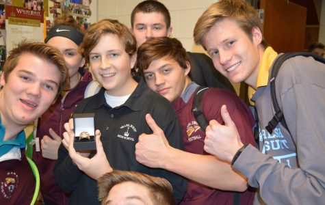 Cavs 2016 Championship ring seen in the halls of WJ [News in Brief]