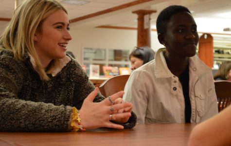 Tanzanian visitors come to Walsh Jesuit