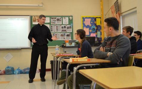 Fr. O'Connor, S.J. joins the WJ community