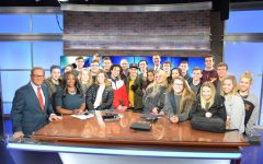 The Pioneer staff visits Channel 19 News, explores the field of journalism