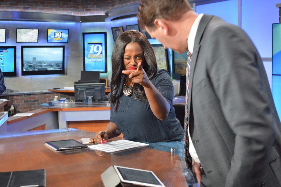 Channel 19 News field trip [Photo Story]