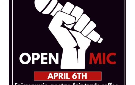 Open Mic Night, Thursday, April 6th