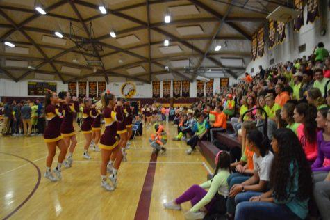 Homecoming Pep Rally [Video]