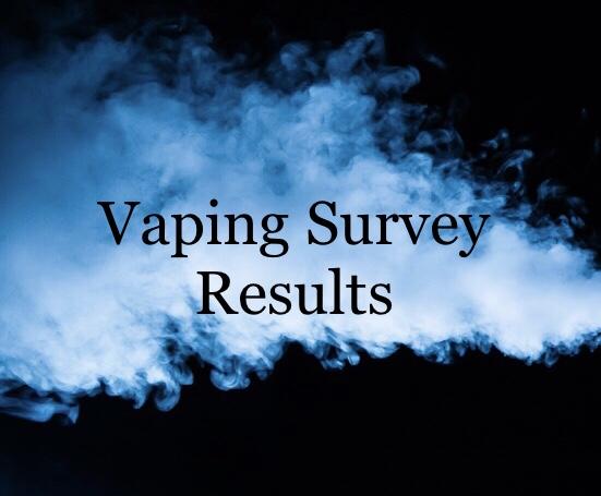 Vaping survey results