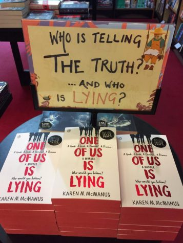 """One of Us is Lying,"" by Karen McManus, is widely available at local bookstores."