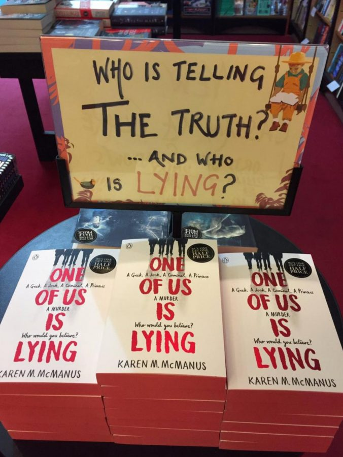 %22One+of+Us+is+Lying%2C%22+by+Karen+McManus%2C+is+widely+available+at+local+bookstores.+