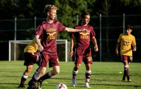 Kickin' it with WJ boys soccer