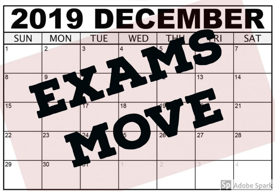 Semester one exams move before break