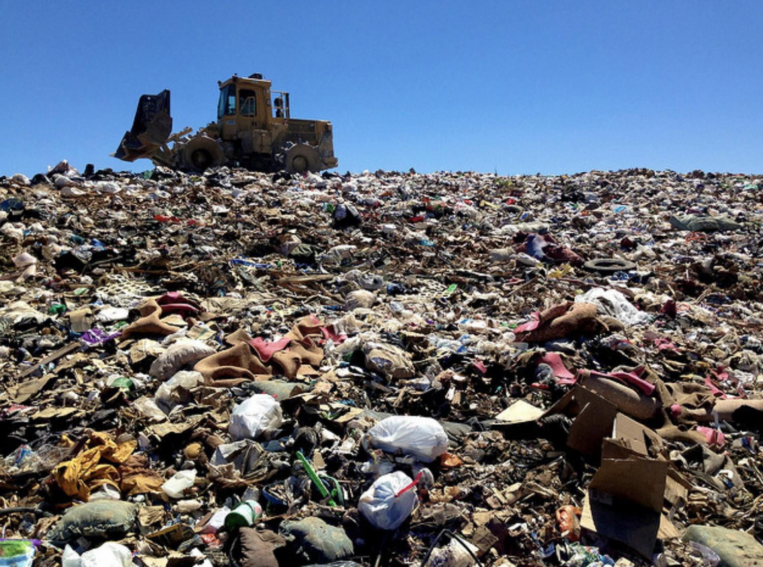 About 111 million metric tons of waste will be displaced due to China's change in policy.