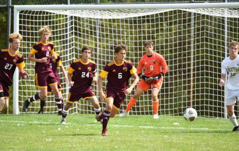 Impressive season for varsity boys' soccer