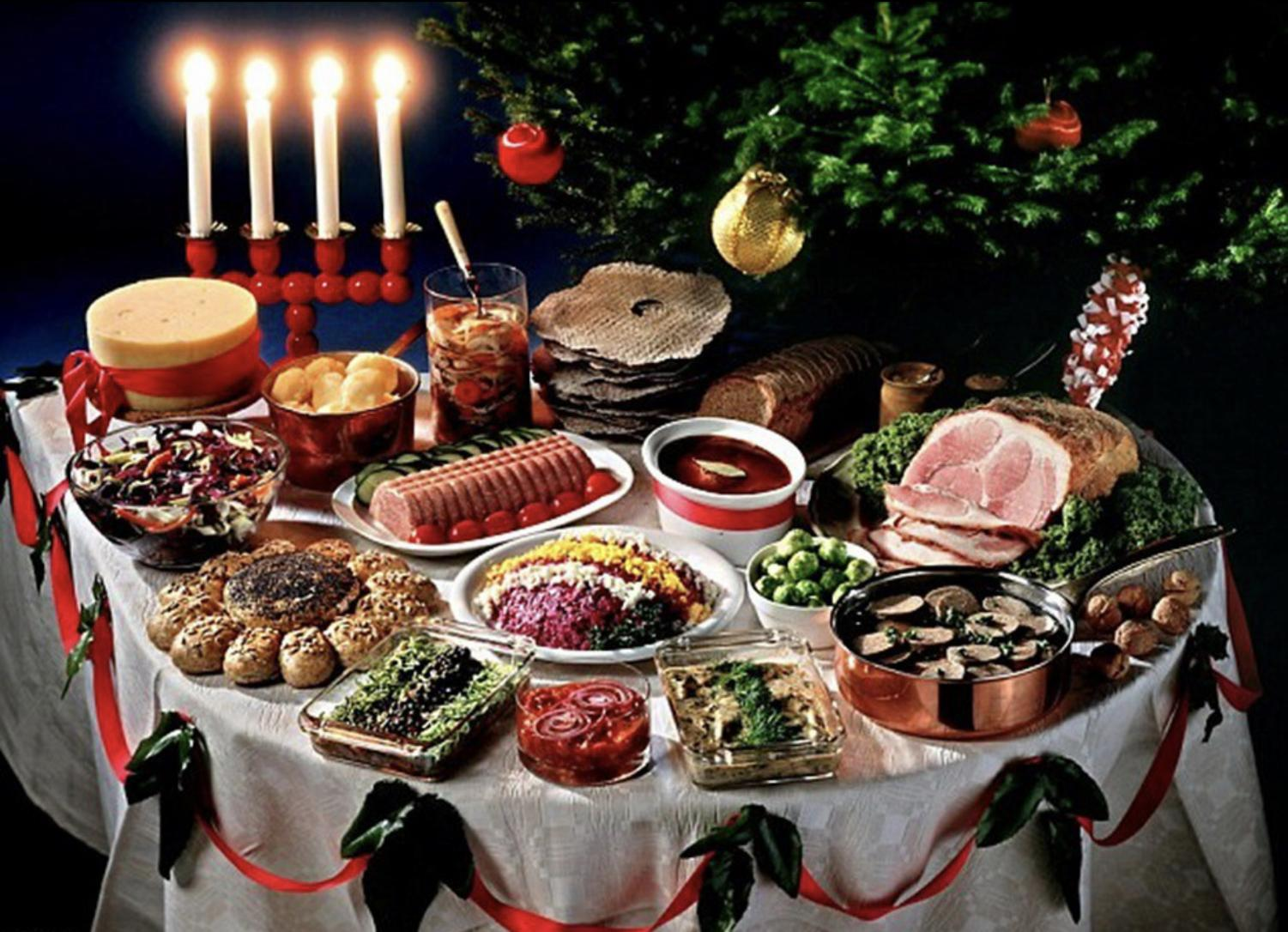 No matter one's background, food is at the heart of most family Christmas traditions.