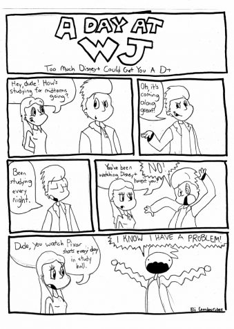 A Day at WJ [Comic]