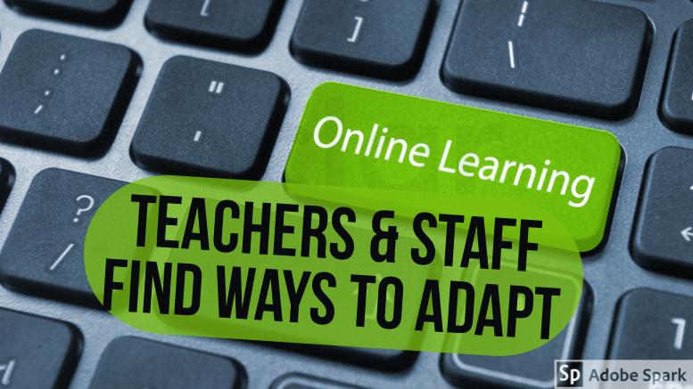 WJ teachers and staff find ways to adapt