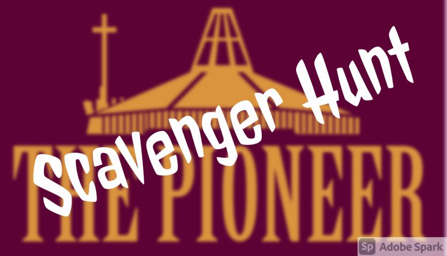 Pioneer scavenger hunt