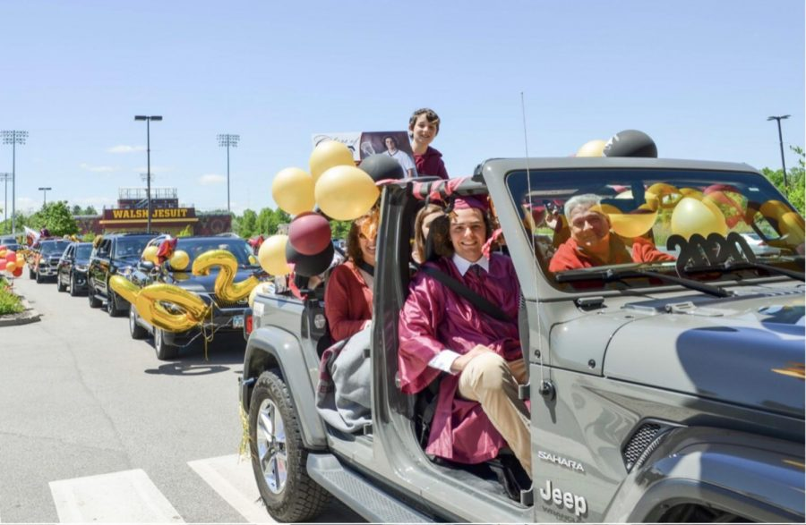Last year, the Class of 2020 had a car-parade styled graduation because of the pandemic.
